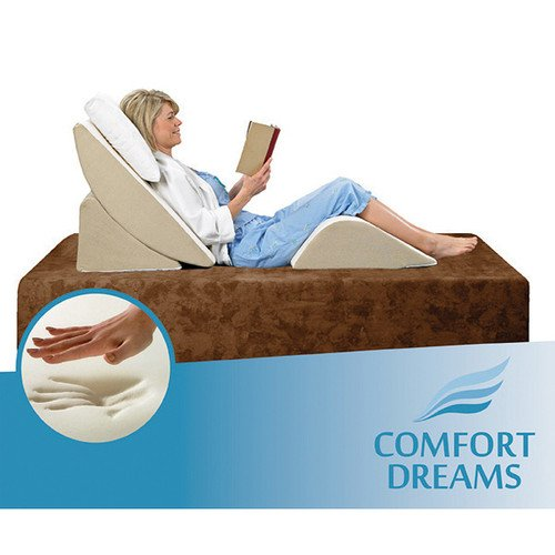 Adjustable Beds For Neck Pain : Comfort dreams zero gravity adjustable piece wedge