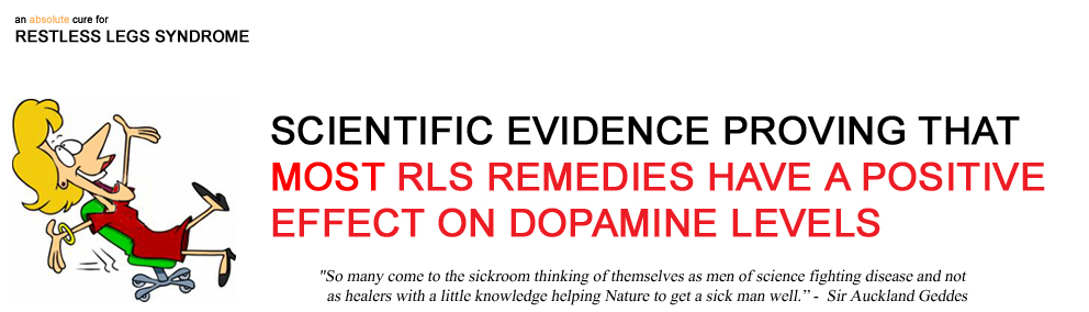 ( Dopamine Drugs and RLS - Image Courtesy of www.rlcure.com )