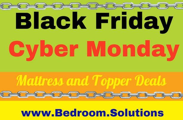 Black Friday Cyber Monday Mattress Topper Deals Bedroom Solutions