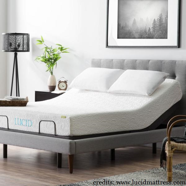 Lucid L300 Adjustable Bed Frame