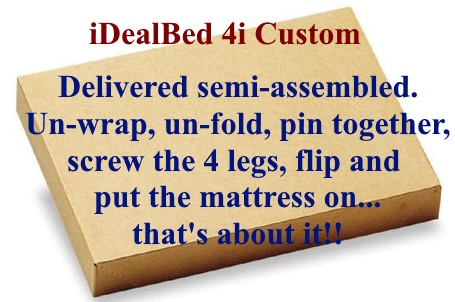 2-step assembly of 4i custom base